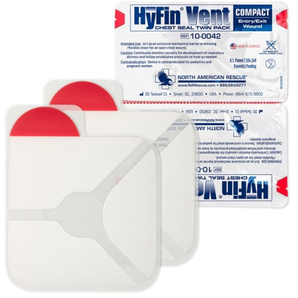 The HyFin® Vent Compact Chest Seal